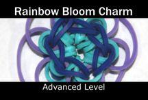 Rainbow loom art