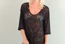 J. Valdi / Women's trendy summer beachwear cover ups.
