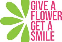 Give A Flower, Get A Smile / We believe that giving a flower to a stranger is a simple yet powerful act of connecting with each other and nature.