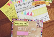 Snail mail letters