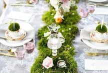 Fairy party kids table