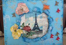Decoupage-mixed media-scrapbooking Voyage in art / Decoupage, one stroke, mix media, scrapbooking,  decorative painting, country painting, seminars of decoupage , one stroke, mix media, scrapbooking, hobbies products, decorative objects.