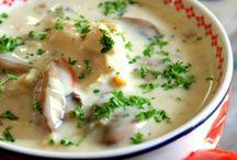 {eat: soup}