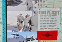 SCRAPBOOK - PAGE IDEAS - MILITARY / by elaine gardner