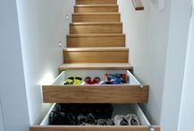 Storage Solutions / Clever and creative storage ideas to help me get organised and utilise every inch of a small space.