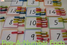 "School - Number fact practice / Program to help number fact fluency ""Fast Fact Friends"""