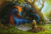 Concept Art - Dragons