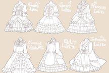 Lolita dress base