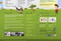 Cool Website Footers / by Rebecca Gill