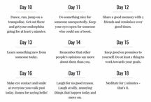 be more positive 30 day challenge