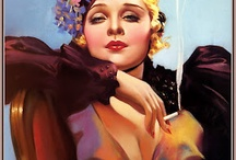 """Classical """"Pin-Ups"""" / """"I generally avoid temptation unless I can't resist it"""" Mae West"""