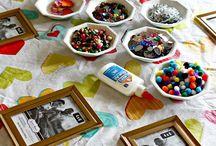 crafty bday party