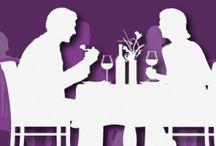 Вместе за столом / Празднуйте модно и делитесь радостью хорошей еды с родными и друзьями.