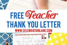 Teacher Appreciation // Michelle's Party Plan-It