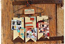 ★ HOME DÉCO ★ / Créations Home Déco avec des tampons Florilèges Design http://florilegesdesign.canalblog.com/