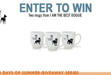 Dog Days of Summer Giveaway Series / Throughout the summer season, The Bark is offering a selection of fabulous products—and one could be yours! A new set of giveaways launch every week, so check back and enter often! #giveaway #entertowin #dogdaysofsummer