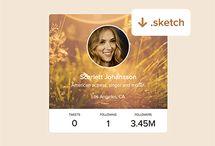 profile widget examples