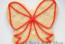 Decorated Cookies - Butterfly Cutter