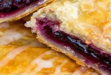 Rasberry And Blueberry Puff Pastry Dough Recipee