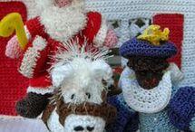 Sinterklaas en kerst haken en breien