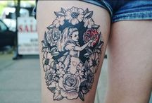 Alice and the rose tattoo ideas