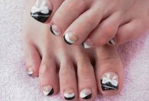 (happy feet) designs for toes