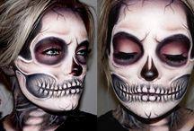 scary make-up