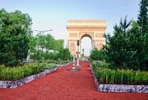 Les Champs-Elysées transformés en jardin extraordinaire