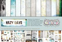7 Dots Studio - Hazy Days / New Spring 2017 collection by 7 Dots Studio
