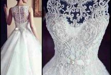 My ideal list for Wedding dresses
