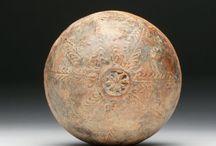 Megarian Bowl / Mold-made pottery bowl