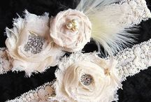 Vintage garters inspiration / beautiful vintage garters for inspiration