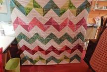 quilts - triangles & diamonds / by Betsy Ercolini