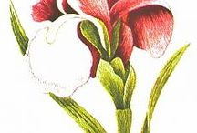 Вышивка гладью и золотом / Needle Painting Embroidery,Needle Painting