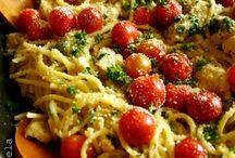 Pasta dishes / Spaghetti