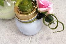 Porta sapone / Porta sapone ricavato da vasetto