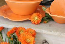 Orange, symbolic of autumn