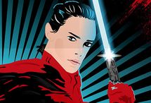 Fan art Illustration - STAR WARS: The Lasr Jedi