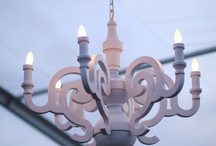 Wedding Ideas - Candles, lighting and chandeliers