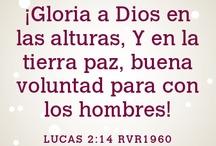 Versículos da Biblia / Em português e espanhol