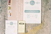 Stationery + Invitations