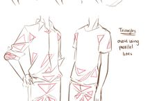 Drawing Clothes / tutorials, refs, etc
