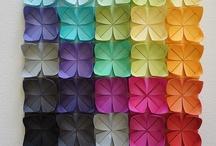 mosaico origami