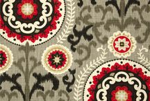 Red, Black and Cream... / Fabric, furniture and rug updates to my kitchen/ dining room and living room and bedroom. Classic Red, Black, Cream ,Gray and Tan. Dramatic and Romantic!