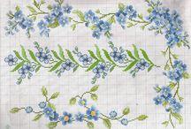 Цветы вышивка