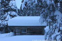 Cabins & Shelters in the Wilderness