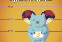 Space Chicken / http://catbug.frederatorbooks.com