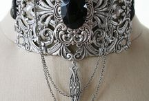 goth jewelry, fashion and accessories / by Roxanne Martell