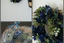 【ブルー&水色】プリザーブドフラワー / Flower noteのプリザーブドアレンジ。  ブルー&水色のギャラリーです