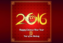 Chinese New Year / Today there's a full-on party going on in China, because only now do they celebrate New Year!